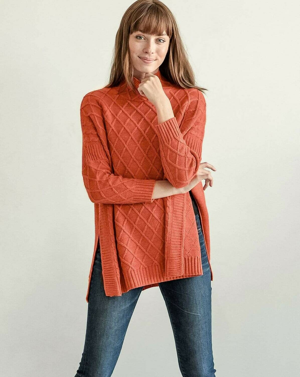 Lisbon Sweater Orange