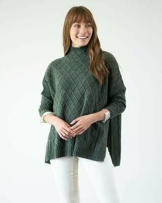 Lisbon Sweater Green