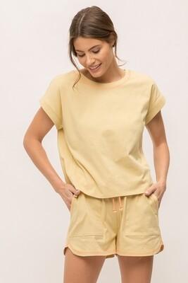 Stitch Shirt Yellow