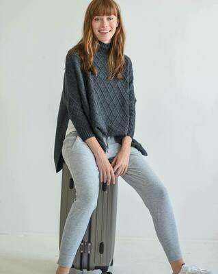 Lisbon Sweater Charcoal