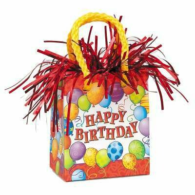 Gift Bag Balloon Weight