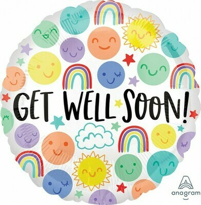 Get Well Happy Doodles