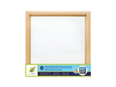 Wood Frame Mount Canvas Panel: 8