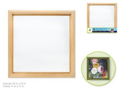 Wood Frame Mount Canvas Panel: 10