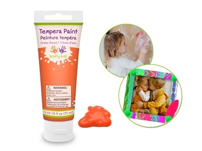 Orange 75ml Tempera Tube