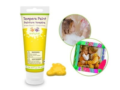 Yellow 75ml Tempera Tube