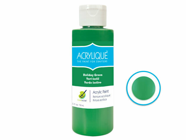 Holiday Green 4oz Paint