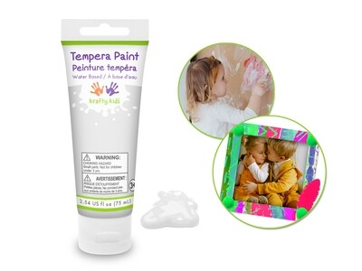 White 75ml Tempera Tube