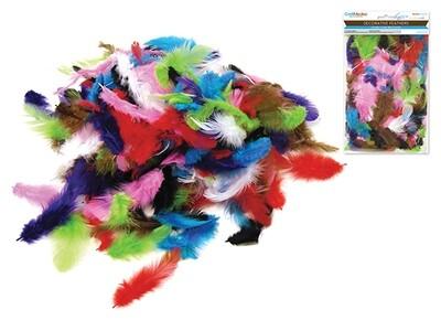 Multi Mix Craft Feathers