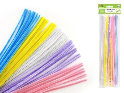 Pastel Mix  Pipe Cleaners 40/pk