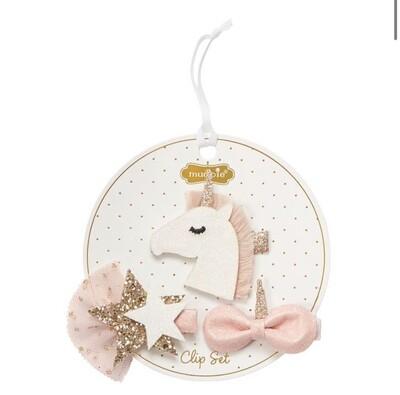 Unicorn Clip Set
