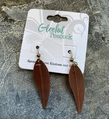 Gleeful Peacock