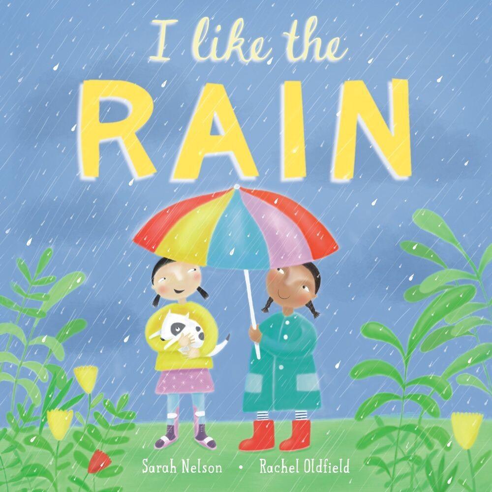 I Like the Rain Book
