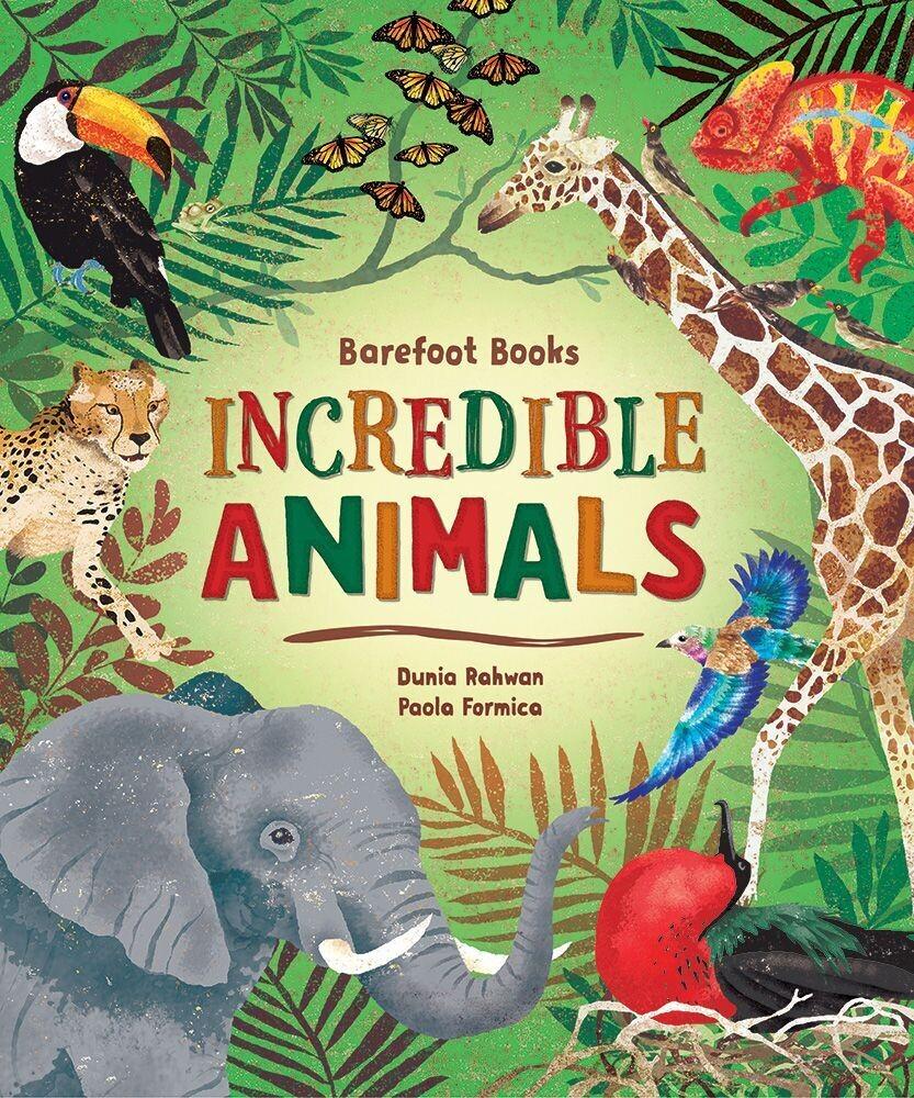 Incredible Animals Book