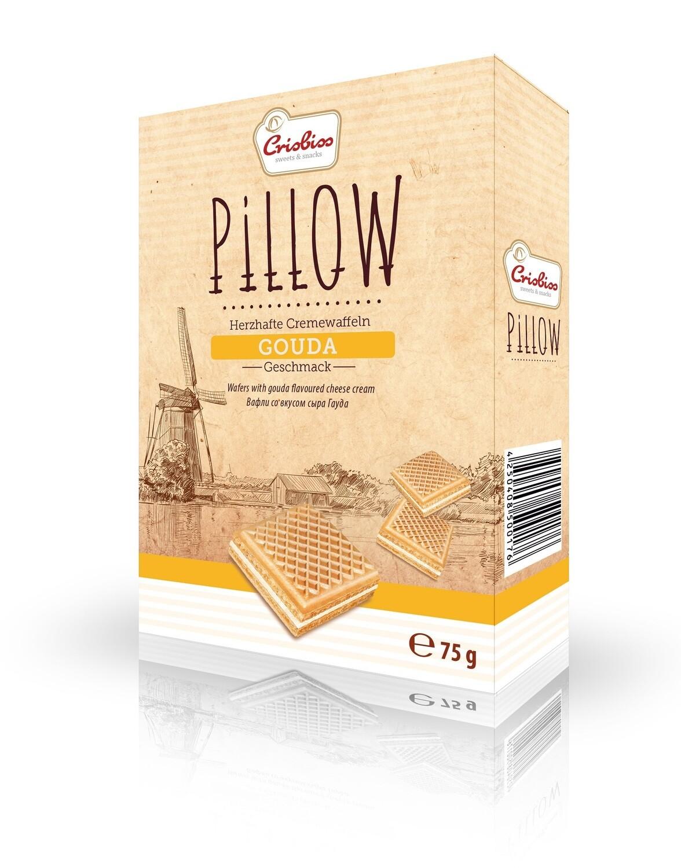 crisbiss Pillow Gouda 75g Faltschachtel