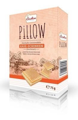 crisbiss Pillow Käse-Schinken 75g Faltschachtel
