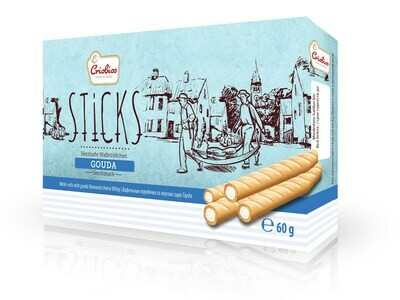 crisbiss Sticks Gouda Faltschachtel