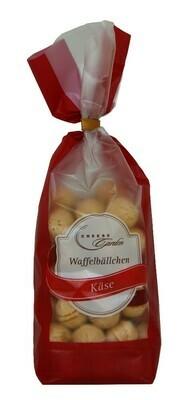 Waffelbällchen Käse 125g Clip-Beutel