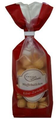 Waffelbällchen Zwiebel 125g Clip-Beutel