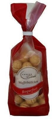 Waffelbällchen Roquefort 125g Clip-Beutel