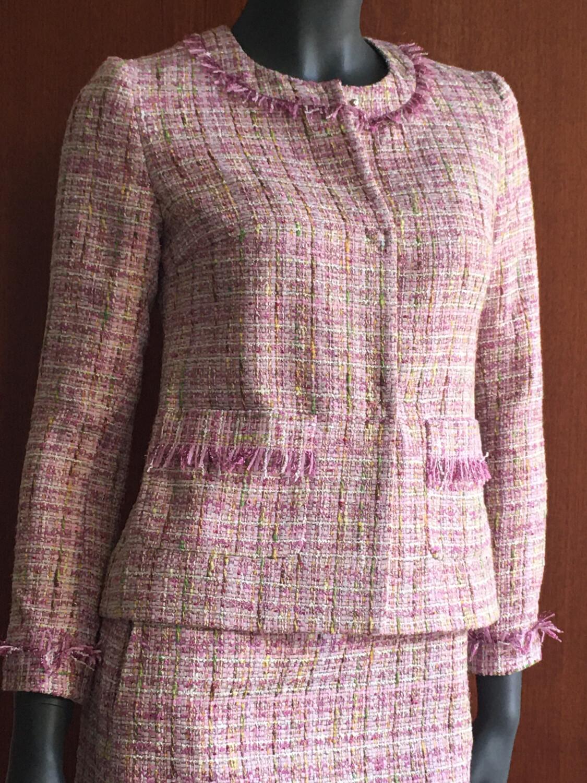 Claudia Krebser Tweed Jacke
