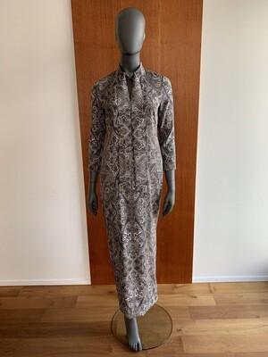 Claudia Krebser Seidenkleid