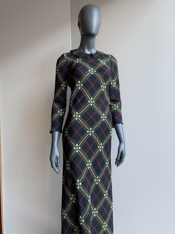 Claudia Krebser Kleid Karo