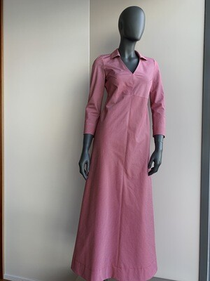 Claudia Krebser Baumwollkleid gestreift