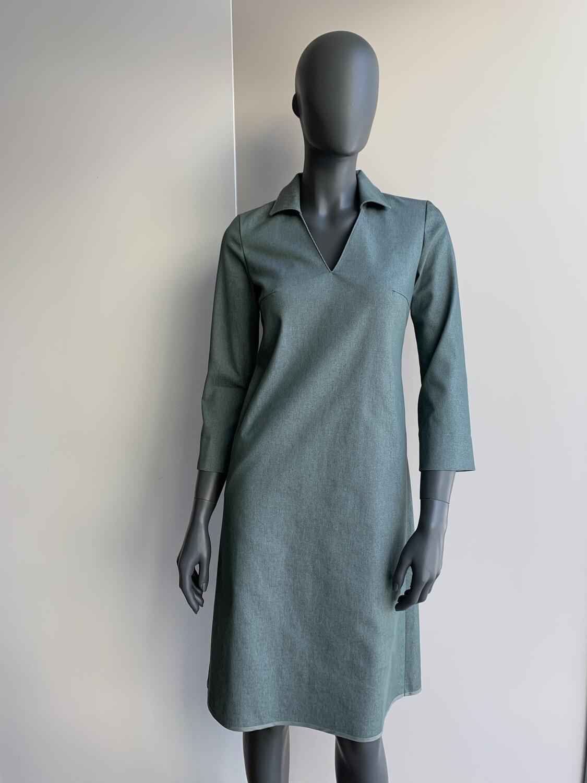 Claudia Krebser Jeanskleid