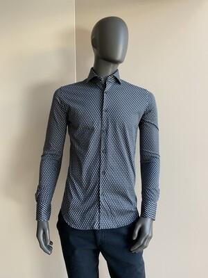 Xacus Jerseyhemd gemustert