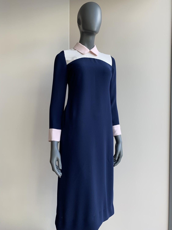 Claudia Krebser Kleid mit Kragen