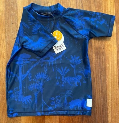 Tumble`n`Dry UV-shirt blau