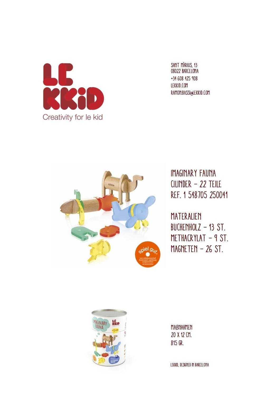 """Le Kidd """"Kreativ Set"""""""
