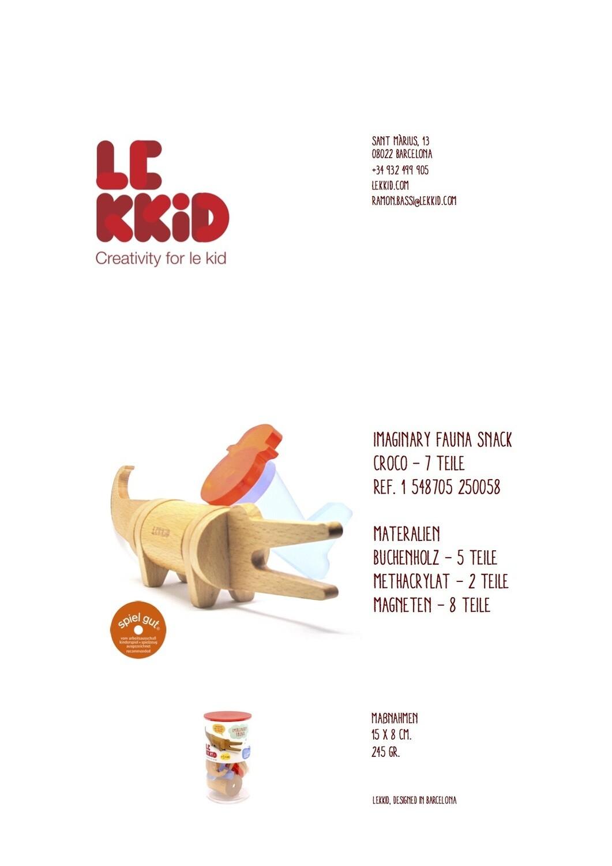"Le Kidd ""verschiedene Tiere"""