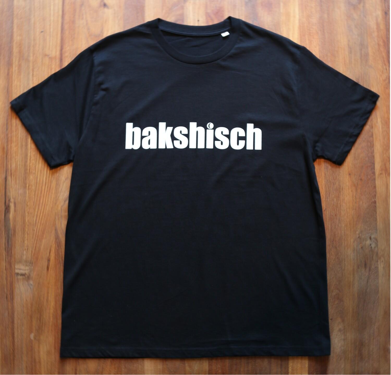 """T-Shirt """"bakshisch"""" unisex"""