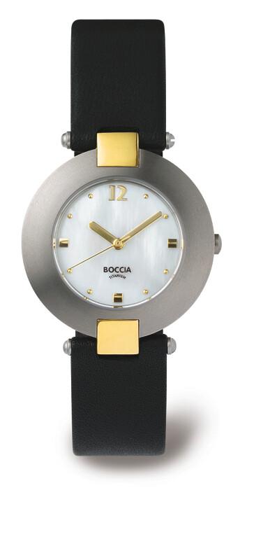 BOCCIA Titatnium - Damenarmbanduhr