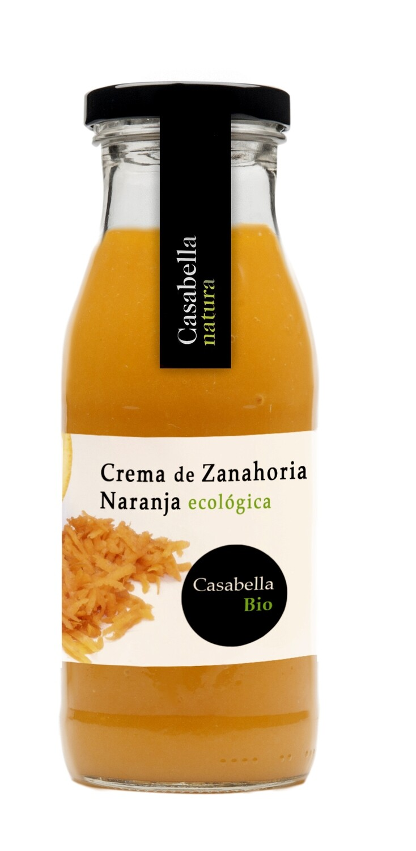 Biologische Wortel creme met sinaasappelsap / 500 ml per Fles