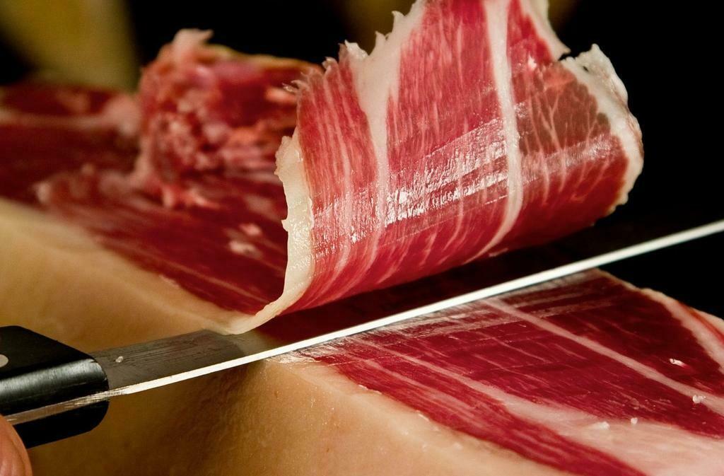 Biologische Pata Negra Iberian Ham met 42 maanden gerijpt