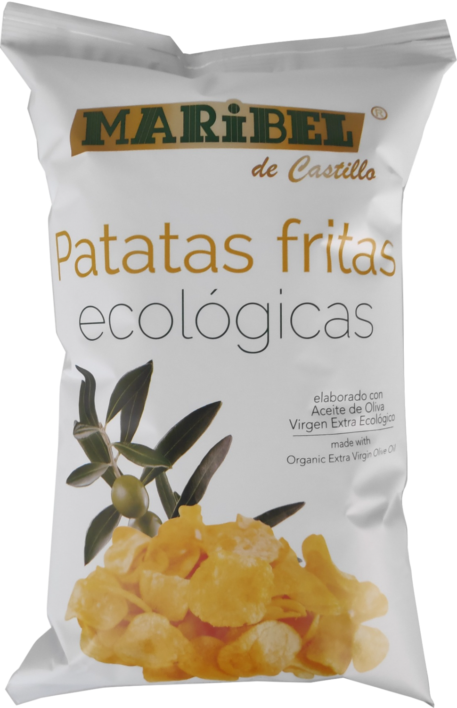 Biologische Chip Natural / 130 gr per Zak / Glutenvrij.