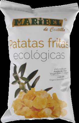 Biologische Chip met extra viergen olijfolie / Doos 10 x 130 Gram