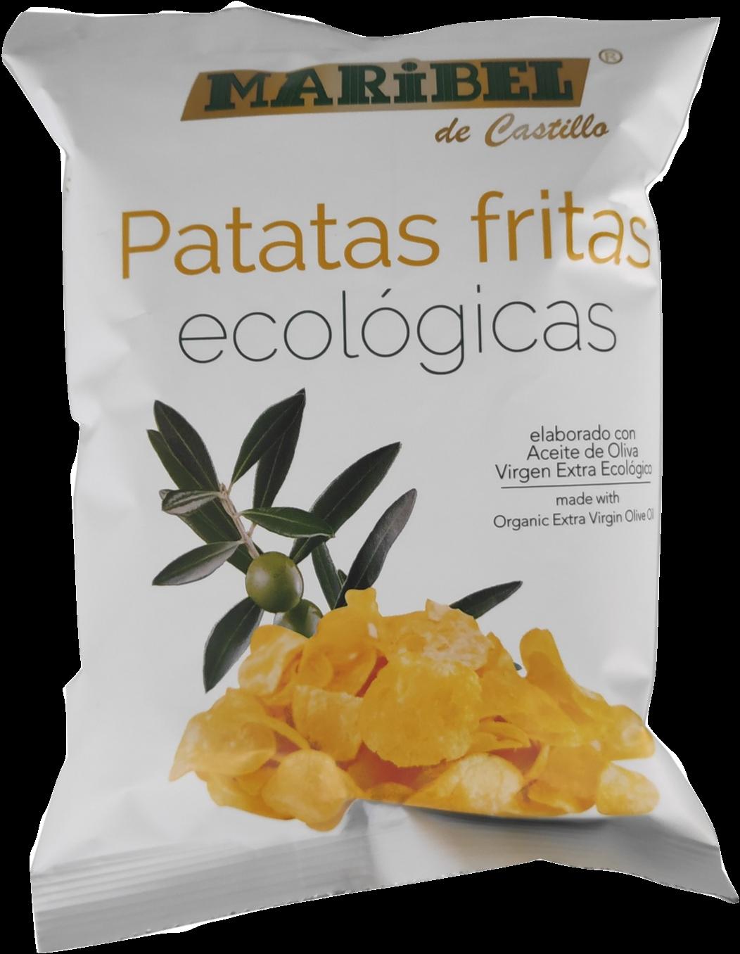 Biologische Chip met extra viergen oljfolie / Doos 40 x 50 Gram