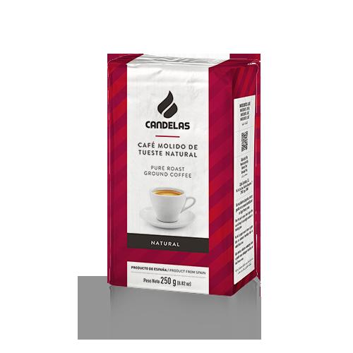 Natuurlijke gemalen koffie Candelas 250 gr