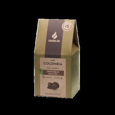 Colombia  Koffiecups / 15 capsules van 5,5 g per eenheid