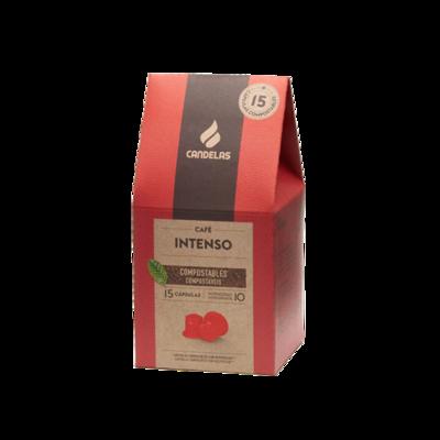 Intens  Koffiecups / 15 capsules van 5,5 g per eenheid
