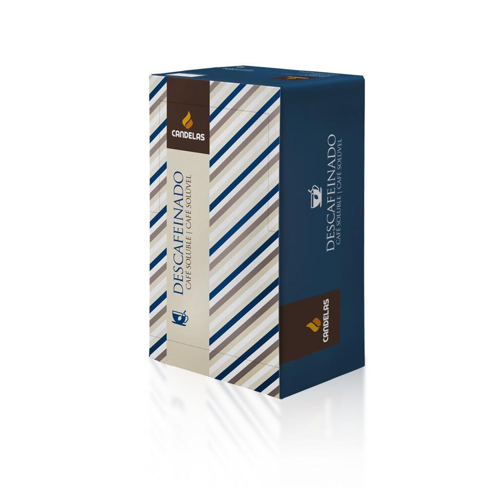 Oploskoffie Essential Koffie cafeïnevrij /  Doos of 100 Zakjes, 1,5 gr per Zakje