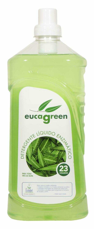 Biologisch eucalyptus wasmiddel 1,6 LT /  minimaal 23 wassen en meer