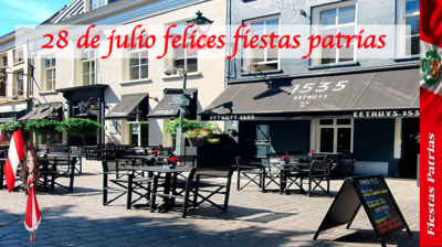Fiestas Patrias 2020 Restaurante Fusion Peruano Asiatico Bistro Bar