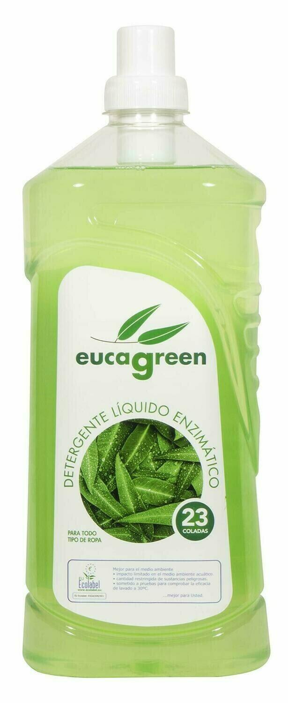 Biologisch eucalyptus wasmiddel – Biologisch afbreekbaar 6 x 1,6 lt