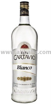 Ron Cartavio Blanco  40% . 6 x 70 cl