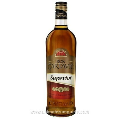 Ron Cartavio Superior Añejo   37,5 % . 6 x 70 cl